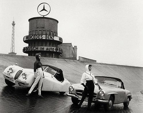 Dos modelos de Mercedes - Foto: www.pinterest.com