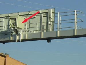 Radar de pórtico - Foto: www.todo-poi.es