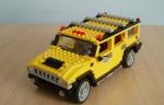 Un Hummer de LEGO - Foto: www.diariomotor.com
