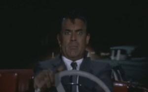 Cary Grant conduciendo en Con la Muerte en los Talones - Foto: http://librospelisdiscos.wordpress.com/