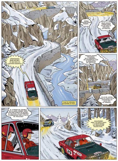 Página del comic - Foto: www.netcom2editorial.com/
