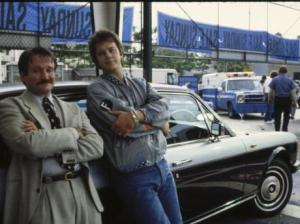 Vendedor de coches en la película Cadillac Man - Foto: www.movie-roulette.com/