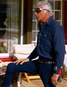 Giovanni Agnelli en los años setenta - Foto: www.tumblr.com