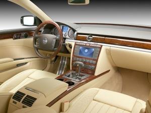 Interior de un Phaeton - Foto: www.deutsche-auto.ru/