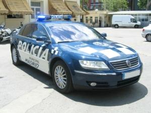 Volkswagen Phaeton de la policía municipal de Madrid - Foto: www.elmundo.es/