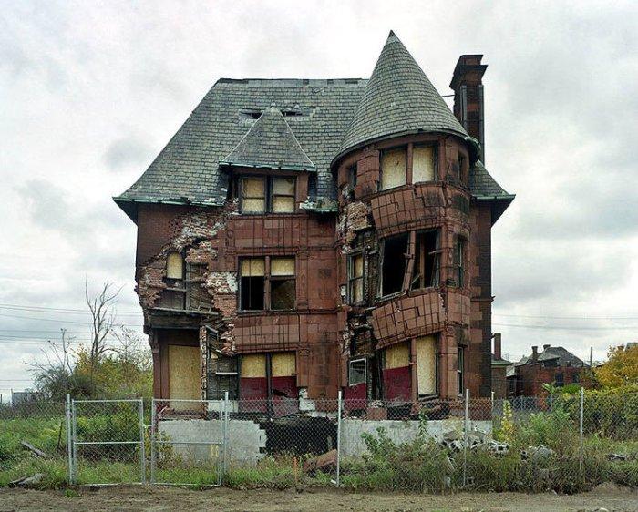 Casa abandonada en Detroit - Foto: http://comerviajaramar.wordpress.com