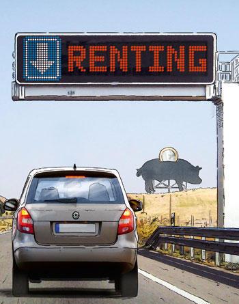 Los beneficios de comprar el coche a nombre de la empresa para la ...