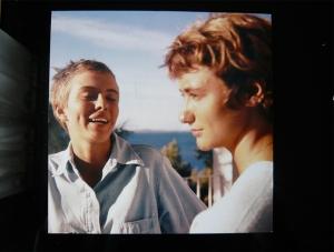 Françoise Sagan y Jean Seberg - Foto: www.allotendance.com