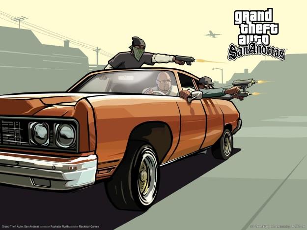 Grand Theft Auto San Andreas - Foto: www.biuber.com