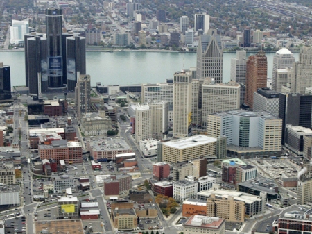 Vista del centro de Detroit- Foto: www.finanzas.com