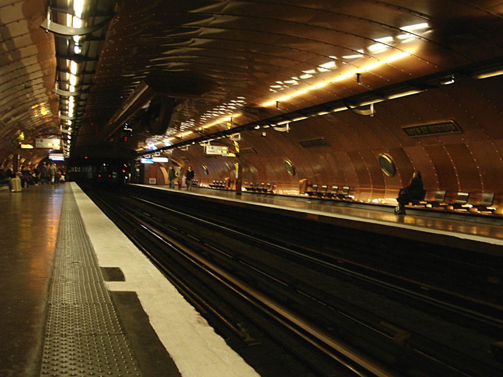 Estación de metro de Arts et Metiers de París - Foto: Wikipedia