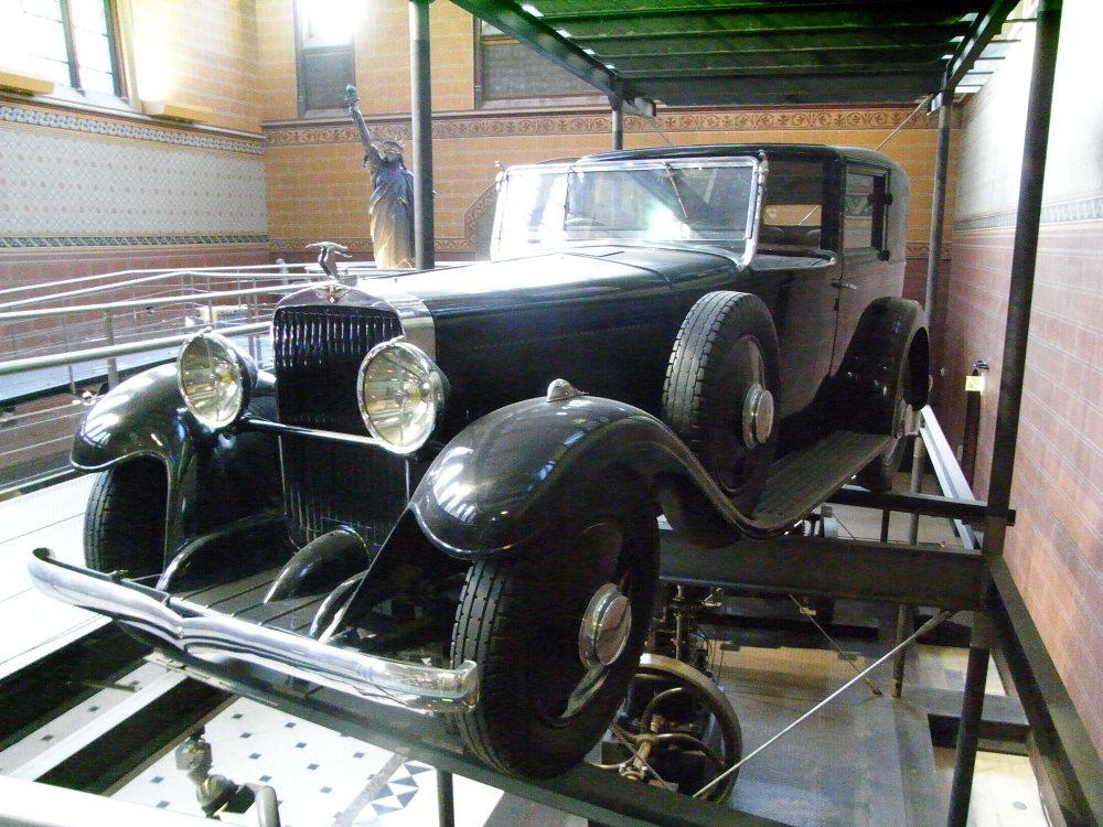Hispano Suiza 1932 en el Museo de Artes y Oficios de París - Foto: www.flickr.com