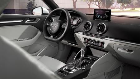 Interior del Audi A3 Sedan - Foto: www.audi.es