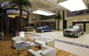 Imagen de un concesionario de Rolls-Royce - Foto: www.motorpasion.com