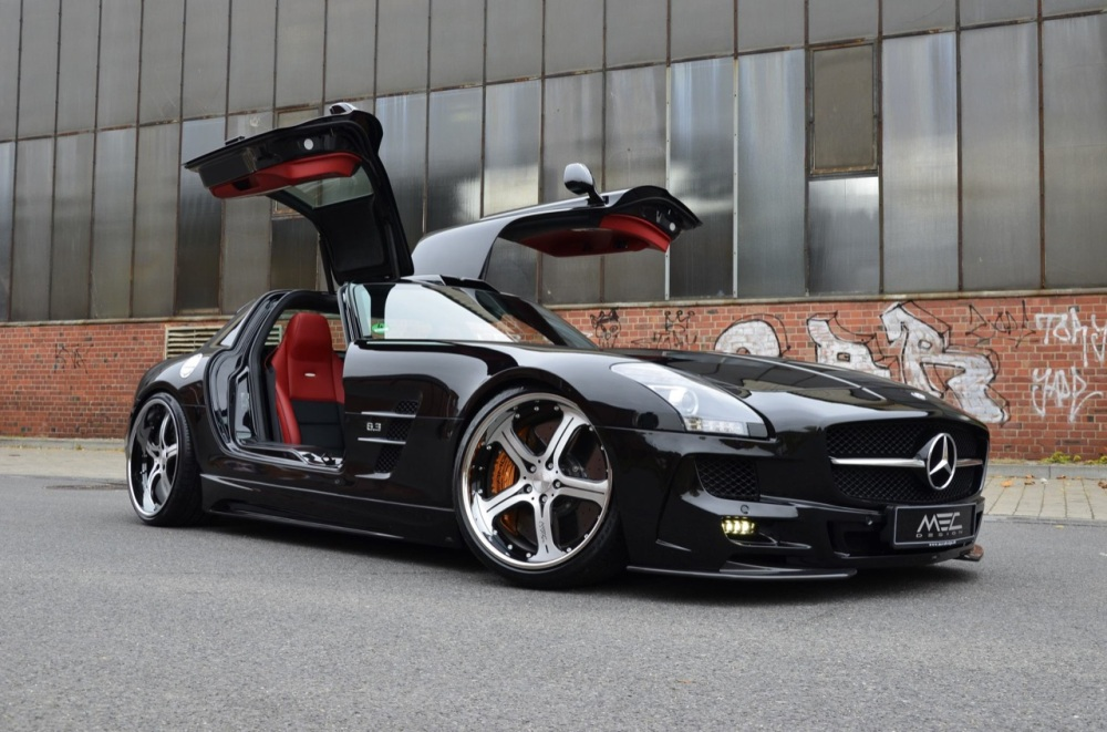 Mercedes SLS AMG Black Series - Foto: http://tuningcult.com